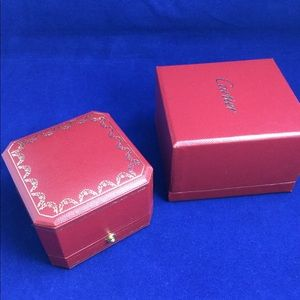 Authentic Cartier empty ring box